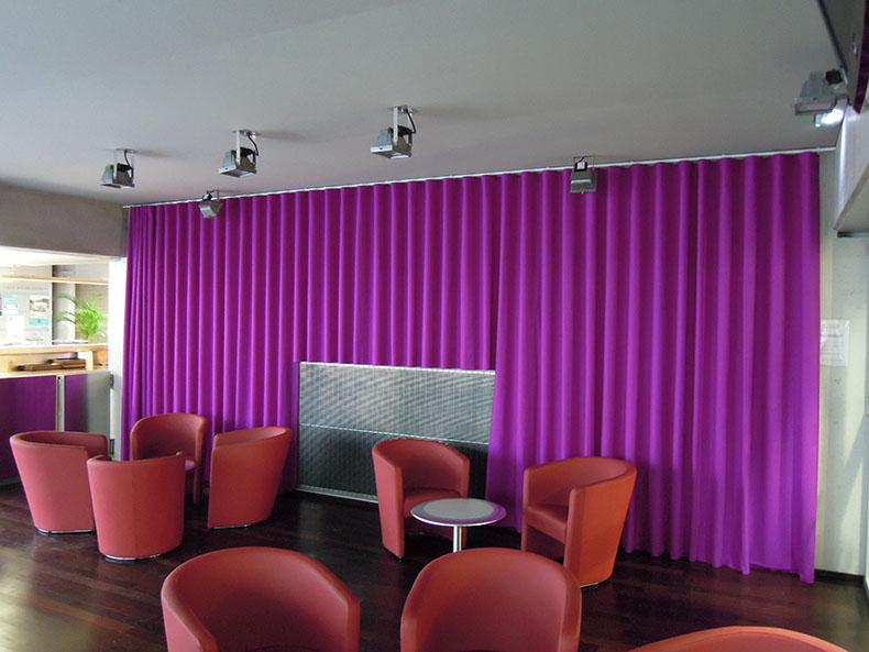 rideau-plis-wave-sur-mesure-restaurant-paris