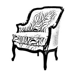 fauteuilbergerelouisxvcorbeille
