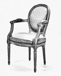 fauteuil-louis-xvi-medaillon