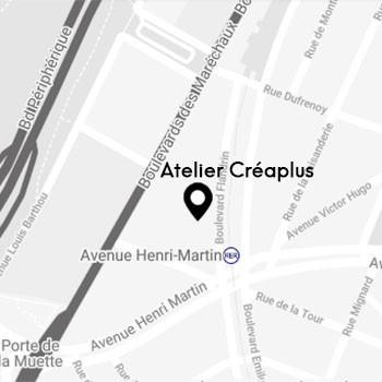 Atelier CréaPlus tapissier Paris 16 adresse